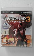 PS3 SONY PLAYSTATION 3 UNCHARTED DRAKE 3 : L'INGANNO DI DRAKE