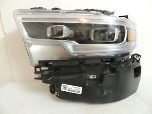 2019 2020 DODGE RAM 1500 HEADLIGHT  FULL LED 68316085AG  USED OEM  LT SIDE