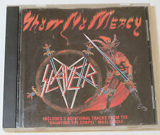 Show No Mercy by Slayer CD 1987 Restless Records USA Haunting the Chapel