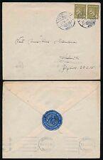 Finlandia 1946 GUERRA feriti fondo Seal associazione di beneficenza su busta