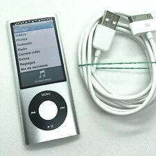  Apple iPod Nano 5eme Generation 16go gris silver A1320 + câble