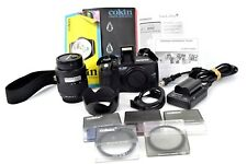 Olympus E-300 8mp SLR Camera, 14-45mm f3.5-5.6 Lens, Cookin Filter System Lot