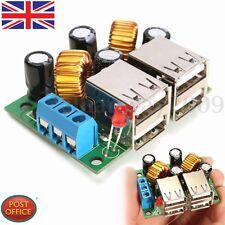 DC 12V 24V 40V to 5V 5A 4.8*3.6cm Adjustable USB Step-down Power Supply Module
