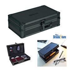 Combination Lock Box Security Safe Jewelry Cash Money Portable Black Case