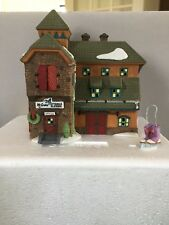 "Dept 56 Heritage Village ""McGribe Cutters And Sleighs�"