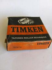 TIMKEN NA476 SINGLE CONE TAPERED ROLLER BEARING TIMKEN USA FREE SHIPPING