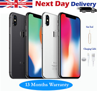 Apple iPhone X (iPhone 10) 64GB 256GB Unlocked SIM Free Smartphone All Colours