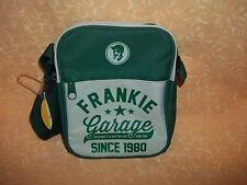 TRACOLLA FRANKIE GARAGE GRIGIA E VERDE   cod.10372
