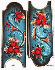 Door Knob Crowns Rosemaling Pattern Pack, FREE SHIPPING, Stock #43P