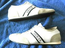 CHAUSSURE BASKET SNEAKERS GUESS SIZE 43 CUIR HERRENSCHUHE Made Italy leather