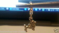 clip on POODLE sterling silver charms charm charms DOG Thomas Sab@ european