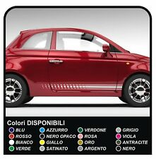 Adesivi FIAT 500 fasce adesive  striscia per 500 stickers per fiancate laterali