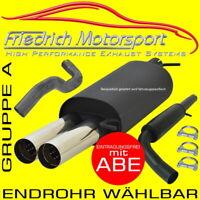 FMS SPORTAUSPUFFANLAGE Ford Focus 3 Turnier DYB 1.5 1.6 110/134KW EcoBoost