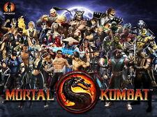 """39 Mortal Kombat - MK Hot Fighting Game Art 32""""x24"""" Poster"""