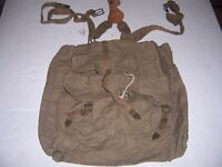 CZECH Backpack Pouch Bag German Military Type Original Rucksack Haversack
