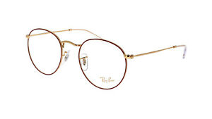 Brand New 2021 Ray Ban Eyeglasses Rb 3447V 3108 Round Metal Rx Authentic Frame S