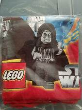 STAR WARS LEGO EMPIRE DARTH VADER KIDS L 10/12 red T-shirt NEW W TAG