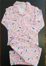 BNWT Girls Sz 4 Tweet Twoo Pink Llama Long Warm Flannel Winter Style PJ Pyjamas
