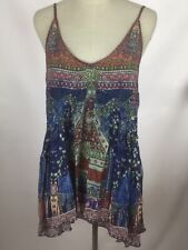 NEW Camilla Franks Silk Overnight Bag Top Singlet Crystal Authentic Size S