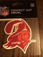 """TAMPA BAY BUCCANEERS CLASSIC LOGO PERFECT CUT DECAL 4""""X 4"""" PERFECT FOR WINDOWS"""