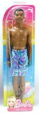 Barbie STEVEN Beach African American Black Boy Doll Purple Tentacles Shorts 2012