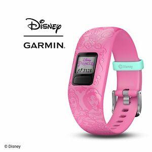 Garmin Vivofit Jr 2 Kid's Activity Tracker Disney Princess Adjustable Band PINK