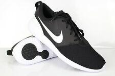 Nike Men's Roshe G Golf Shoes Black Metallic White AA1837 001