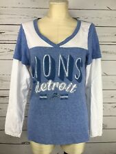 Detroit Lions NFL Womens Long Sleeve Team Apparel