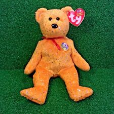 Ty Beanie Baby Decade The Bear Gold Edition 10 Year Bear MWNMT - FREE Shipping