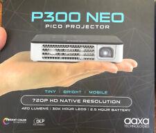 AAXA P300 Neo 720p HD LED DLP Pico 420 Lumen Projector (KP-602-01)