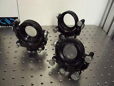 New listing Nrc Newport Thorlabs Melles Griot Gimbal Lens Mount Positioner 57mm Appeture