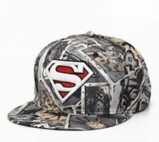 ✅UK✅ UNISEX SUPERMAN STYLE CAP /Snapback/Flat cap/Fashion Hats/Hiphop/Grime✅(27)