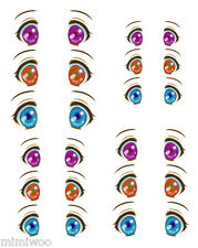 Obitsu 27cm Body 1/6 Dollfie Doll head Eye Decal Sticker 31 (12 pairs) ** NEW **
