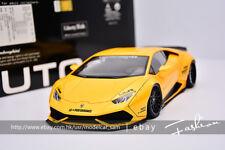 AUTOart 1:18 Lamborghini LIBERTY WALK HURACAN LB Yellow