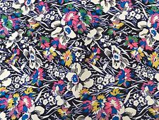Liberty Silk Twill 100%, 'Hawaii', (per metre) dress fabric, sewing