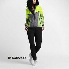 Nike NikeLab X Kim Jones Windrunner Women's Jacket S Volt Gray Yellow Rainwear