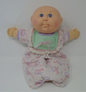 """Cabbage Patch Doll 14"""" Hasbro OAA 1991 Xavier Roberts Rocking Horse Nightgown"""