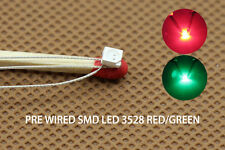 DT3528RG 20pc Pre-soldered litz wired leads Bi-color RED/GREEN SMD Led 3528 DUAL