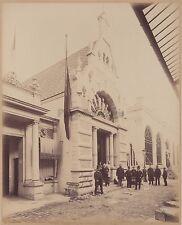 Exposition universelle de Paris 1889 pavillon à identifier Vintage albumine