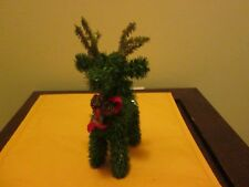 """Decorative Christmas Reindeer New No Tag Or Box 9.5"""" New See Description"""