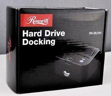 "New Rosewill 2.5"" & 3.5"" Black SATA USB 2.0 Docking Station Hard Drive Enclosure"