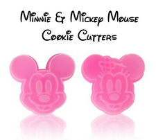 Disney Minnie & Mickey Mouse Cookie Cutter 2 Pieces - Fast Free Post