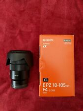 Sony 18-105 F4 E-Mount Lens and Hoya Polarizer Filter