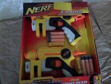 NERF N-STRIKE NITE FINDER EX-3 TWO BLASTER TARGET COMPETITION