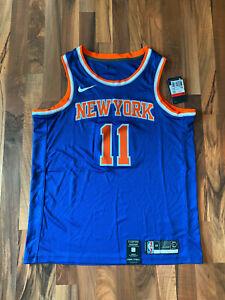 Nike NBA New York Knicks Trikot   1 - Frank Ntilikina   Gr. L   Blau   NEU