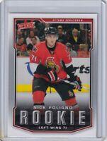 NICK FOLIGNO ROOKIE Card RC 2007 2008 UPPER DECK VICTORY NHL #330 SENATORS