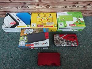 Nintendo Konsole DSI/2DS/3DS/ 3DS XL/ New 3DS/ Limited Edition (Pikachu)