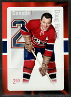 Canada #2789 Great Canadian NHL Defensemen Doug Harvey Souvenir Sheet MNH