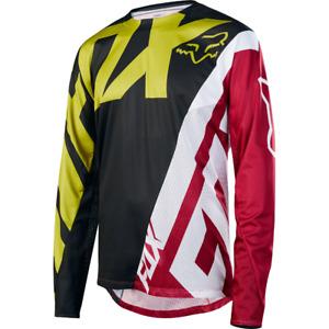 Fox Racing Demo Long Sleeve L/S Jersey Yellow/Black
