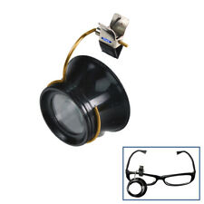 5X Clip-On Eye Loupe Eyeglass Magnifier Magnifying Glass Lens for Repair Work